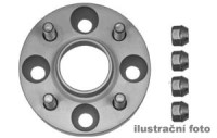 HR podložky pod kola (1pár) JAGUAR X-Type rozteč 108mm 5 otvorů stř.náboj 63,3mm -šířka 1podložky 20mm  /sada obsahuje montážní materiál (šrouby, matice)