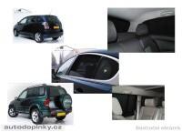 Privacy Shades přesné protisluneční clony - 6 dílná sada Jaguar X-Type sedan -- rok výroby 2001-04